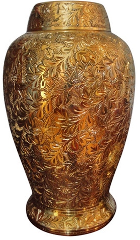 Pleasant Solace Brass Urn funeral