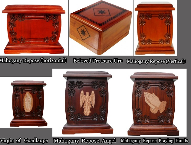 Wood Urn Collection